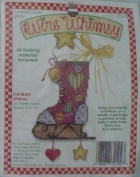 Ice Skate Whimsy By Karen Avery - Counted Cross Stitch Kit - Wire Whimsy - #72198