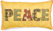 Dimensions Needlecrafts Handmade Embroidery, Peace Pillow Kit