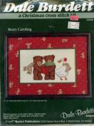 Dale Burdett, a Christmas Cross Stitch, Bears Carolling