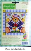 Sailor Bear by Janlynn Counted Cross Stitch Kit