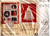 "The Creative Circle ""Magical Moments Photo Mat"" (#2455) Cross Stitch Kit"