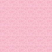 Hot Off The Press - Soft Tints Pink Swirls Paper