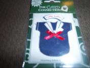 Little Sailor Cloth Shirt Scrapbook Sticker