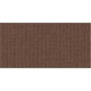 American Crafts Textured Cardstock 12X12 - Chestnut