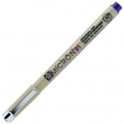 SAKXSDK0124 Micron Pen,Waterproof/Fade Resistant,0.25mm Point,Purple