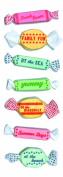 Martha Stewart Crafts Stickers, Taffy