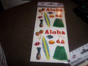 Paper House Sticky Pix Aloha Scrapbook Stickers