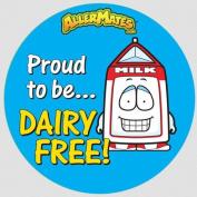 Allermates 10193 Dairy-Free Alert Stickers