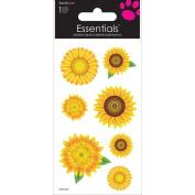 Sandylion Sunflower Essentials Handmade Sticker, 5.1cm by 15cm