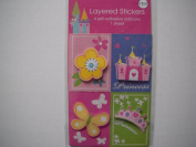 Princess Layered Stickers