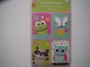 Animal Layered Stickers