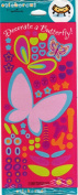 Decorate a Butterfly Scrapbook Stickers