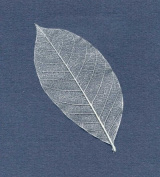 Vellum Stickers - Silver Leaves