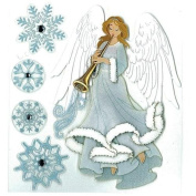 EK Jolee's Boutique Winter Angel