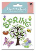 Jolees Boutique Themed Ornate Stickers, Spring