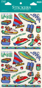 Water Sports Scrapbook Stickers