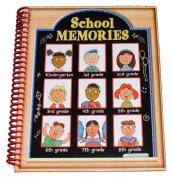 School Memories Picture Keepsake Scrapbook Journal