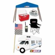 Nascar 3-D Stickers: Camper