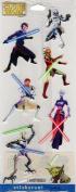 Star Wars the Clone Wars Scrapbook Stickers