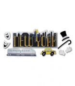 Jolee's Boutique Title Wave Stickers-New York C