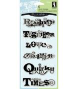 Inkadinkado Clear Stamps-Scrapbook Phrases