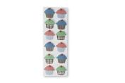 Martha Stewart Crafts Stickers, Dimensional Cupcakes