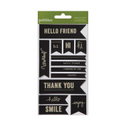 Lakeside Chalkboard Stickers 10cm x 20cm -