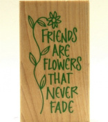 Hero Arts Rubber Stamp - Friends are Flowers