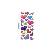 Sticko Classic Stickers-Sparkle Hearts