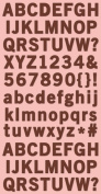Cosmo Cricket Iron Port Ready Set Chipboard Stickers, 15cm -by-30cm