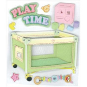 Jolee's Boutique Dimensional Stickers-Play Pen and Toys