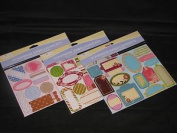 Miss Elizabeth's Scrapbook Embellishments 1 Assorted