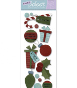 Jolees - Touch Of Jolee's Dimensional Sticker - Holiday Gifts