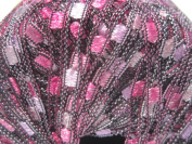 Dazzle By Knitting Fever - #105 Magenta Pinks Black