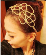 New Fashion Flower Alloy Headwear Headband