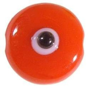 Red Evil Eye Bead with Hole