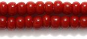 Preciosa Ornela 6SB148 Czech Seed Bead, Opaque Brick Red Mahogany, Size 6/0