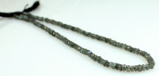 """Natural Firey Labradorite Rainbow Moonstone Faceted 4-5mm Beads String Strand 14"""""""