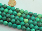 "Green Chrysoprase Beads Gemstone 10mm Facted Round 15.5"" Strand Finding Charms Jewellery Making & design Beading"