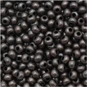 Genuine Metal Seed Beads 8/0 Dark Copper Plated 36 Grammes