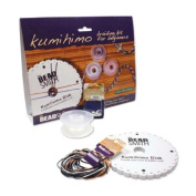 Kumihimo Braiding Kit for Beginners By the Beadsmith Easy to Learn, Kit Includes Everthing You Need to Make Braided Jewellery