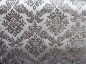 140cm Wide Upholstery Fabric Shelby Collection Flocked Damask -