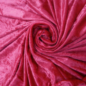 160cm Velvet Fabric Solid Pattern Pink Quilting Sewing Making Material By the Yard