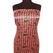 Pink Polyester Satin Fabric Abstract Pattern Drape Dress Kimono Cushion Apparel Sewing Craft By The Yard