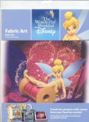 The Wonderful World of Disney Fabric Art Peter Pan Tinker Bell Falling