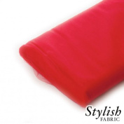 Red Tulle Fabric - 40 Yards Per Bolt