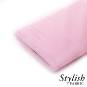Pink Tulle Fabric - 40 Yards Per Bolt