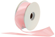 Offray Single Face Satin Craft 3.8cm by 50-Yard Ribbon Spool, Light Pink