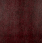 140cm G533 Burgundy Red, Upholstery Grade Recycled Leather (Bonded Leather) By The Yard