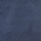140cm Wide C091 Blue, Microsuede Upholstery Grade Fabric By The Yard